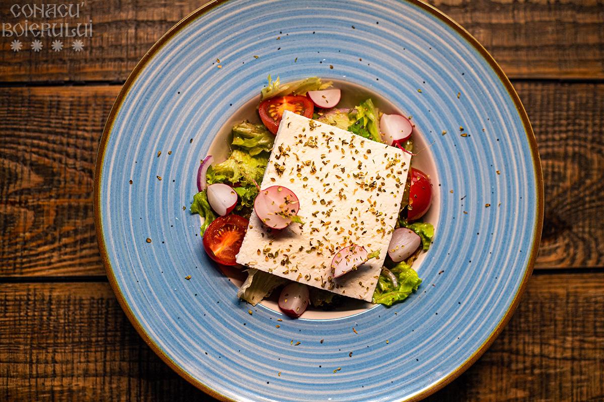 Restaurant Conacu' Boierului, Ponoarele, Mehedinti - Salata cu branza