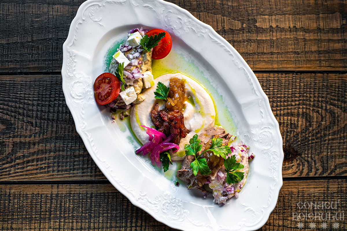 Restaurant Conacu' Boierului, Ponoarele, Mehedinti - Salate din camara bunicii